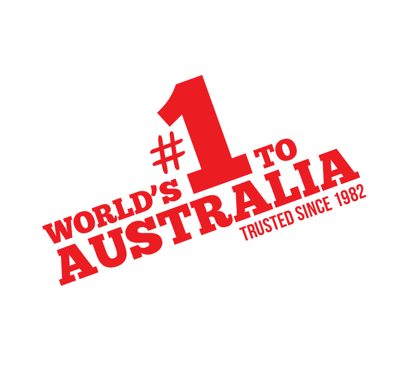 World's #1 to Australia